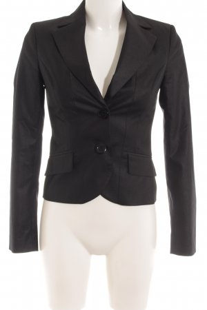 Sisley Kurz-Blazer schwarz Business-Look