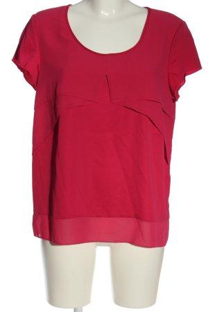 Sisley Camicetta a maniche corte rosa stile casual