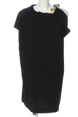 Sisley Kurzarmkleid schwarz Casual-Look