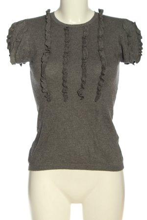 Sisley Jersey de manga corta gris claro look casual