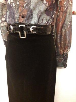 Sisley Cintura vita nero-argento