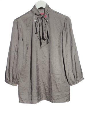 Sisley Camicetta a maniche lunghe grigio chiaro elegante