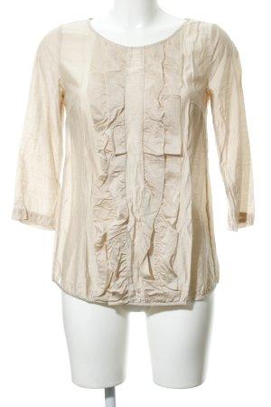 Sisley Langarm-Bluse nude Elegant