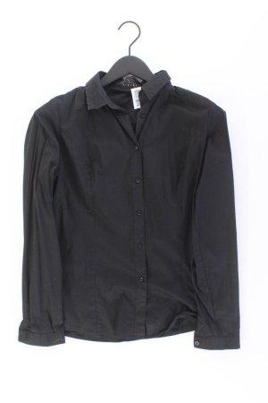 Sisley Long Sleeve Blouse black cotton