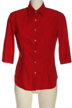 Sisley Langarmhemd rot Casual-Look
