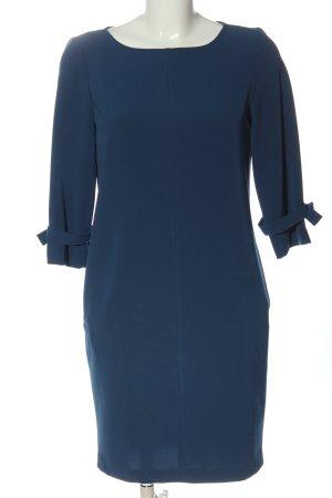 Sisley Langarmkleid blau Casual-Look