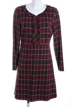Sisley Longsleeve Dress red allover print business style