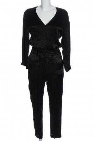 Sisley Langer Jumpsuit schwarz Casual-Look