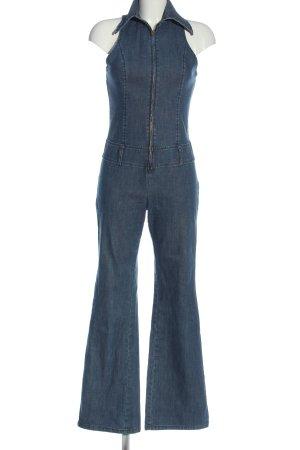 Sisley Langer Jumpsuit blu stile casual