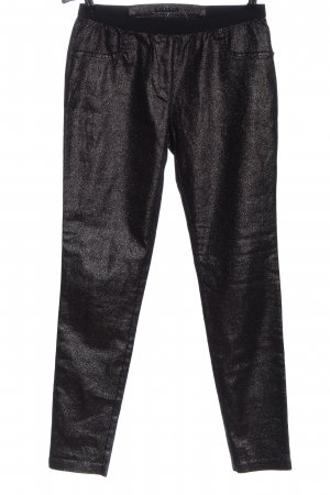 Sisley Leggings schwarz Casual-Look