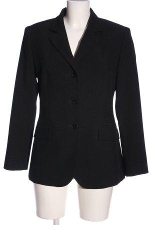 Sisley Long-Blazer schwarz Business-Look