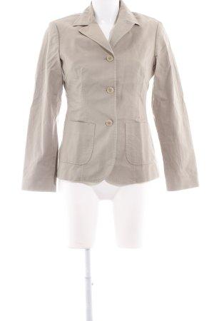 Sisley Long-Blazer beige Casual-Look