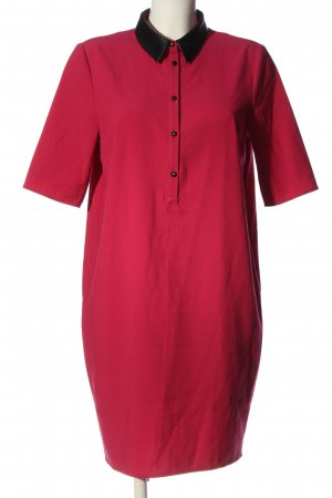 Sisley Long-Bluse rot-schwarz Casual-Look