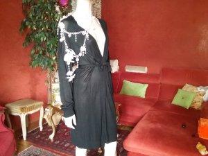 Sisley Giacca lunga nero