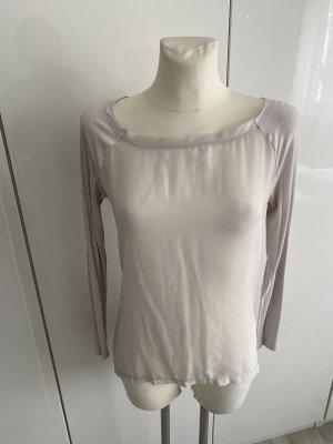 Sisley Camicia lunga grigio chiaro
