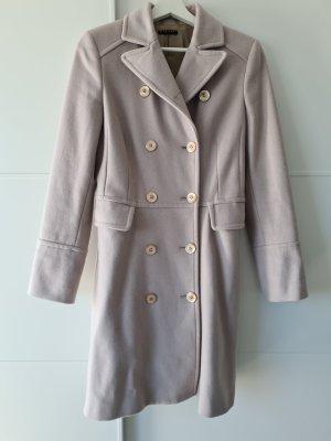 Sisley Cappotto in lana grigio chiaro