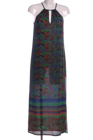 Sisley Maxikleid Blumenmuster Casual-Look