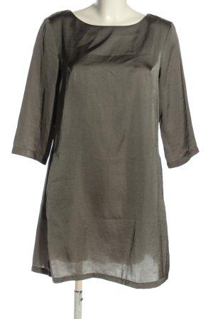 Sisley Midikleid silberfarben Elegant
