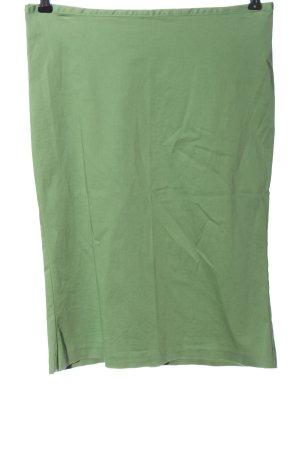 Sisley Spódnica midi zielony Elegancki