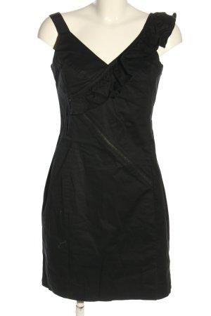 Sisley Minikleid schwarz Elegant