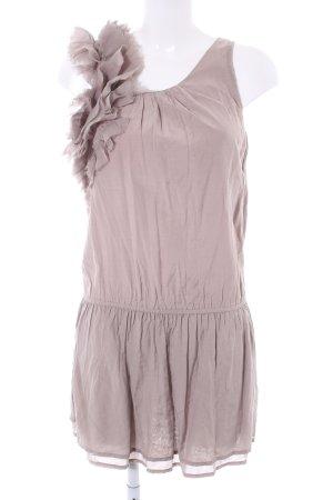 Sisley Minikleid graubraun Casual-Look