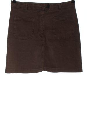 Sisley Minifalda marrón look casual