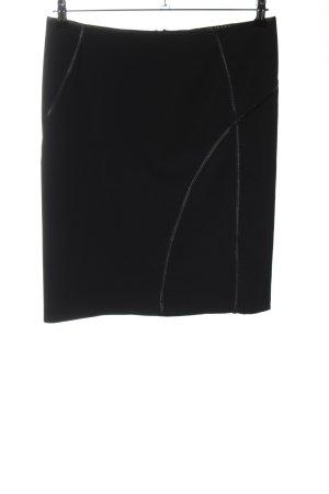 Sisley Minirock schwarz Business-Look