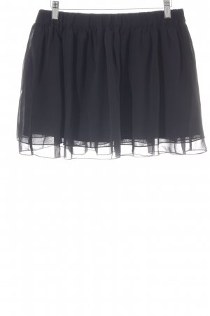 Sisley Minirock schwarz Casual-Look