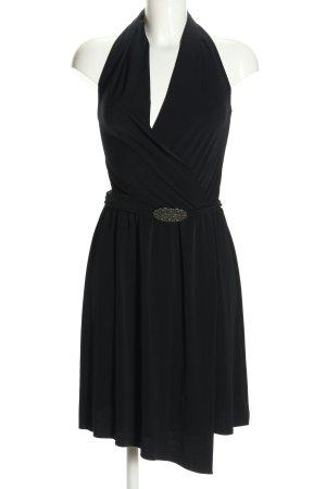 Sisley Neckholderkleid schwarz Elegant