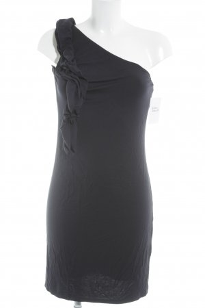 Sisley One-Shoulder-Kleid dunkelblau Party-Look