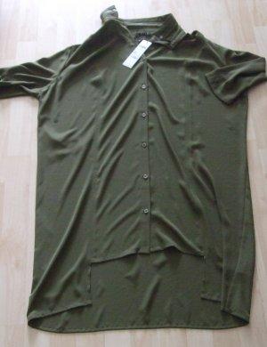 Sisley Camicia blusa cachi