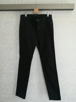 Sisley Pantalon en jersey noir