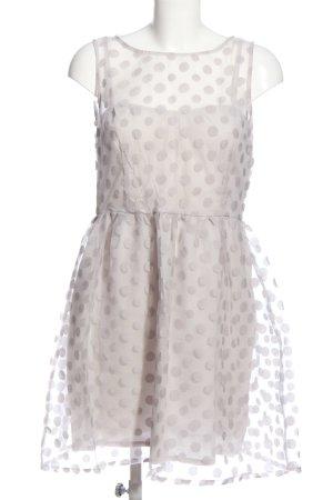 Sisley Petticoat Dress light grey allover print elegant