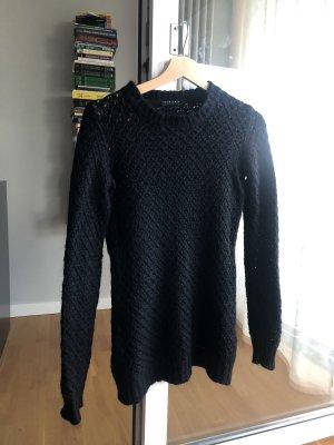 Sisley Maglione di lana nero