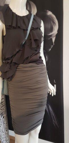 Sisley Blusa grigio scuro-antracite