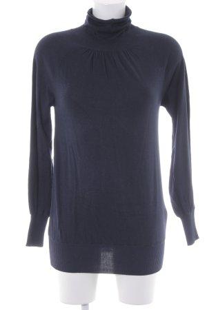 Sisley Rollkragenpullover dunkelblau Casual-Look
