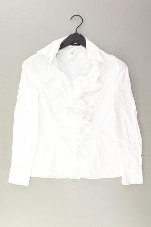 Sisley Blouse à volants blanc cassé coton