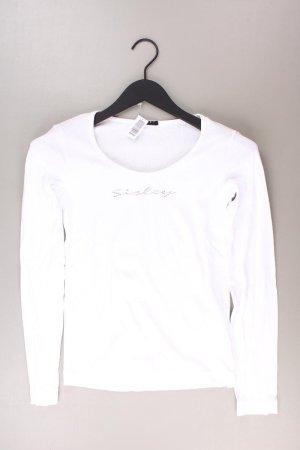 Sisley Shirt weiß Größe S