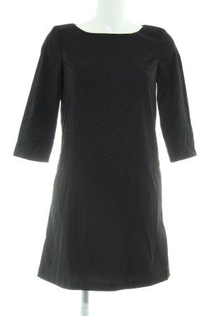 Sisley Shirtkleid schwarz Business-Look