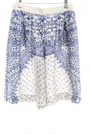 Sisley Shorts abstraktes Muster Casual-Look