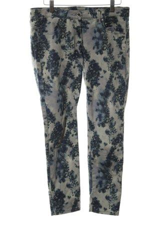 Sisley Skinny Jeans abstraktes Muster Casual-Look