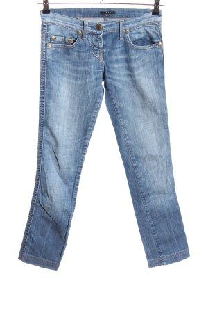 Sisley Vaquero skinny azul look casual