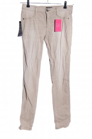 Sisley Skinny Jeans creme Casual-Look