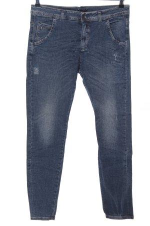 Sisley Slim Jeans blau Casual-Look