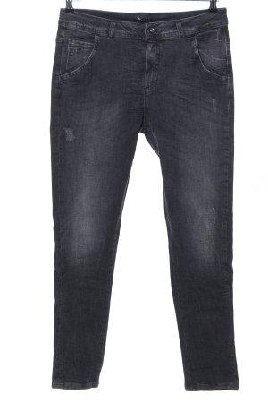 Sisley Slim Jeans schwarz Casual-Look
