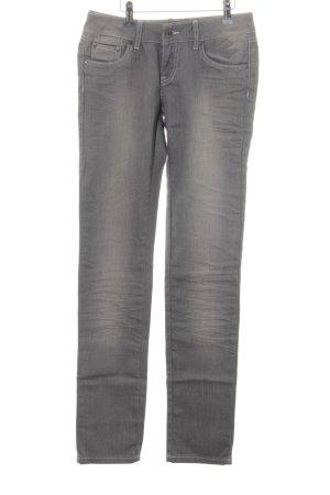 Sisley Slim Jeans hellgrau Casual-Look