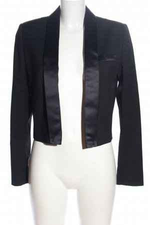 Sisley Smoking-Blazer schwarz Business-Look