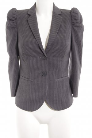 Sisley Smoking-Blazer hellgrau Streifenmuster Business-Look