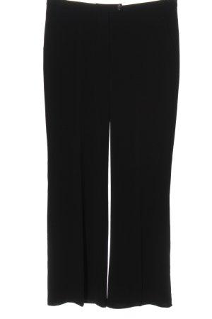 Sisley Pantalon en jersey noir style décontracté