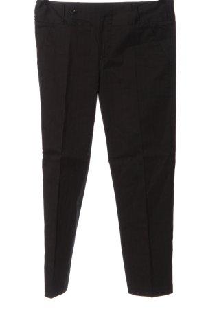 Sisley Jersey Pants brown striped pattern business style